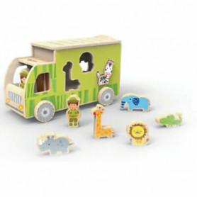 Camión transportador de animales
