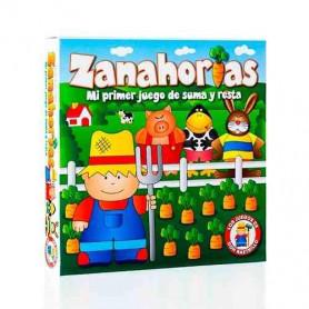 Juego de Sumas y Restas - Zanahorias