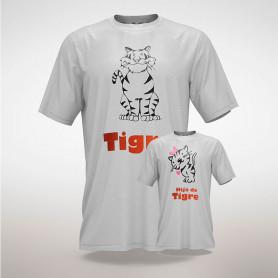 Promo: remera padre Tigre + Hija/o de Tigre - Myto