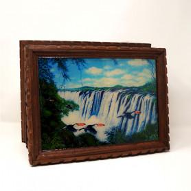 Caja de té Cataratas del Iguazú - FAM