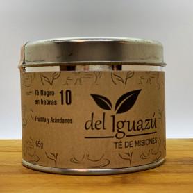 Té rojo en hembras saborizado con frutilla y arándano - Del Iguazú Infusiones