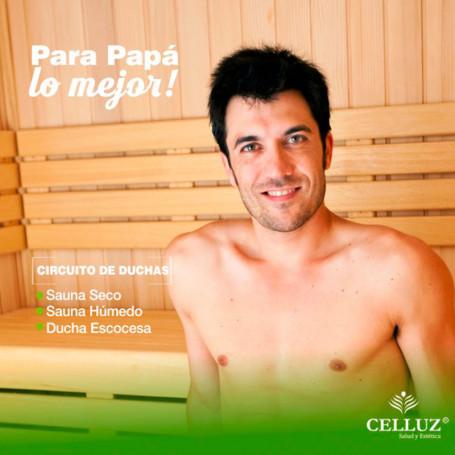 Circuito de ducha - Voucher día del padre en Celluz -