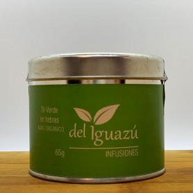 Té verde orgánico en hebras - Del Iguazú Infusiones