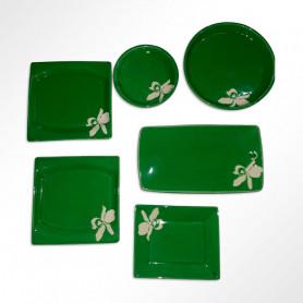 Juego de 6 piezas para picadas - Cerámica Otumpa