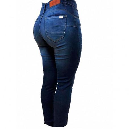 Jeans clásico tiro medio - AF JEANS