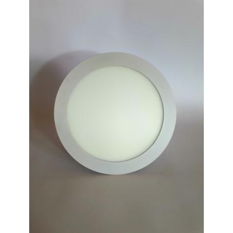 Panel Circular p/embutir LED 18w