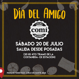 Cena especial - Día del Amigo - Restó COMÍ