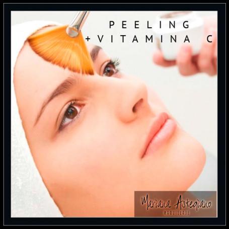 Peeling + Vitaminas C - Mariana Astegiano