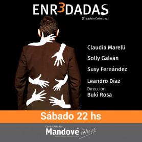 Obra de Teatro Enredadas - Teatro Mandove