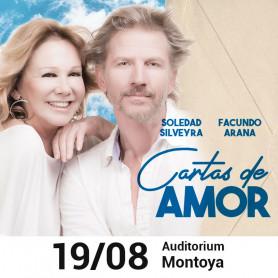 Obra de teatro Cartas de amor con Facundo Arana y Soledad Silveyra