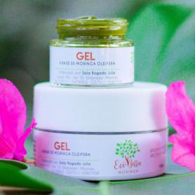 Gel a base de Moringa Oleifera