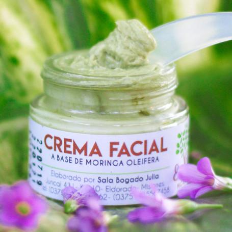 Crema Facial de Moringa Orgánica - Ecobella