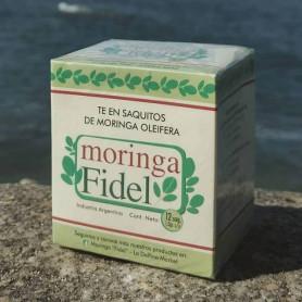 Moringa Fidel - Té en saquitos de Moringa Oleifera