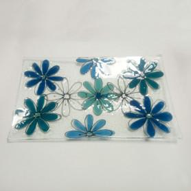 Fuente de Flores en vitrofusión