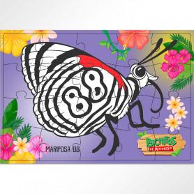 Rompecabezas de 20 piezas Mariposa 88 - Bichitos de Misiones