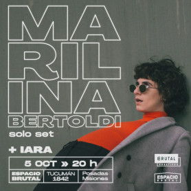 Entradas para Marilina Bertoldi
