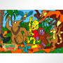 Rompecabezas de 30 piezas animales bailando- Bichitos de Misiones