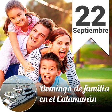 Almuerzo en Familia en el catamarán - Domingo 22 de septiembre