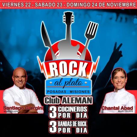 Entradas para Rock al Plato Posadas - 1° Festival de Rock Culinario