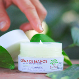 Crema para manos a base Moringa Oleifera