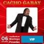 Entradas VIP-Cacho Garay en Posadas, Misiones