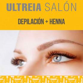 Depilación + Henna - Ultreia Salón