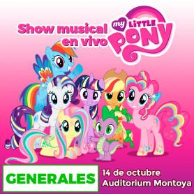 Show musical infantil - El Mágico Mundo de los Ponys - Generales