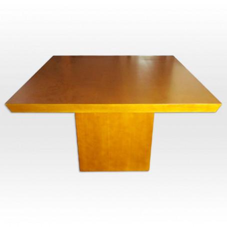 Mesa comedor base cubo
