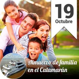 Sábado en familia en el catamarán - Sábado 19