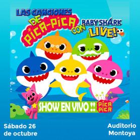 Las canciones Pica Pica con Baby Shark, Live - Vip