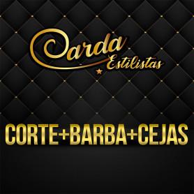Voucher para Corte + Barba + Cejas - Carda Estilitas