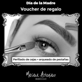 Voucher diseño y perfilado de cejas + arqueado de pestaña - Mariana Astegiano