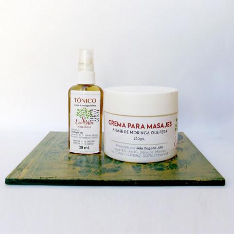 Promoción - Tónico facial + Crema para masajes