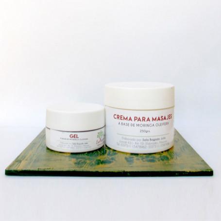Promoción - Gel + Crema para masajes
