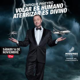 Enrique Piñeyro Volar es Humano Aterrizar es Divino