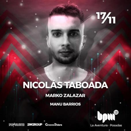 Entradas para el BPM -  Nicolás Taboada