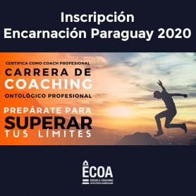 Incripción Carrera de Coaching Profesional - Encarnación 2020
