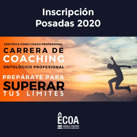 Incripción Carrera de Coaching Profesional - Posadas 2020