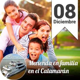 Merienda  Familiar en el Catamarán - Domingo 8 diciembre