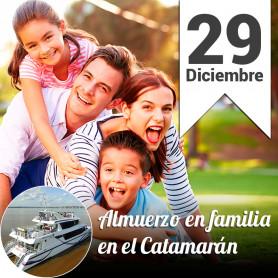 Almuerzo Familiar en el Catamarán - Domingo 29 diciembre 30% Off