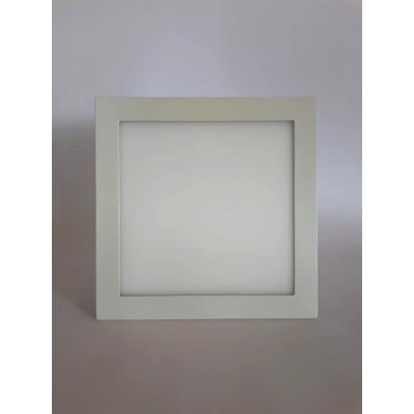 Panel Cuadrado p/embutir LED 18W