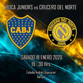 Crucero del Norte vs Boca Juniors