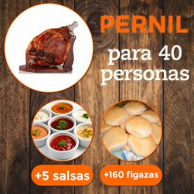Voucher pernil de cerdo para 40 personas - A&E Gastronomía