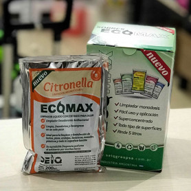 Limpiador aromatizante citronella - ECOMAX