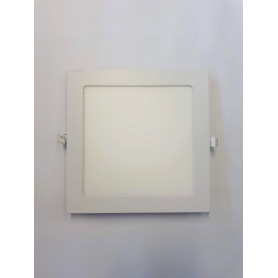 Panel Cuadrado p/embutir LED 12W