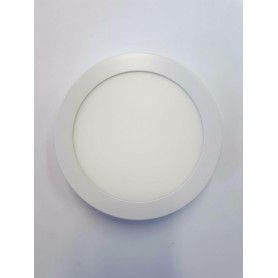 Panel Redondo p/embutir LED 12W