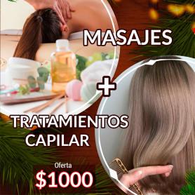 Carda Estilistas - vocher para masajes + tratamientos capilar