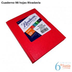 Cuaderno por 98 hojas- Rivadavia