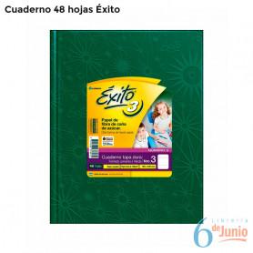 Cuaderno por 48 hojas - Éxito