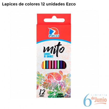 Lápices de Colores x 12 unidades - Ezco